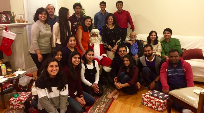 Dinner with Santa Claus and a Game of Charades