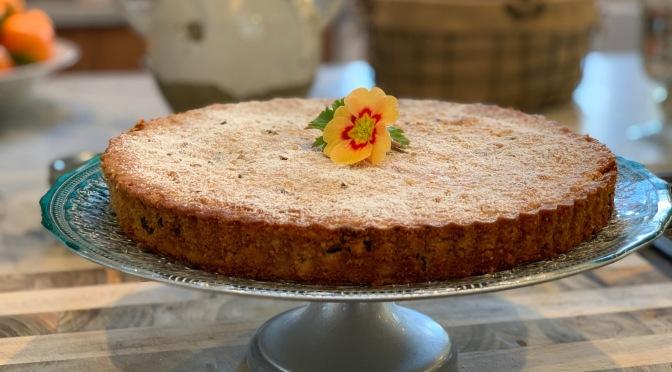 Hazelnut Apricot Torte