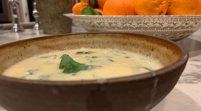 Zucchini Ginger Soup