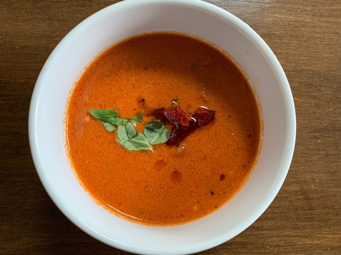 Oven Baked Tomato Bisque