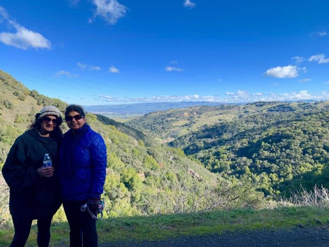 Sierra Azul Hiking Trail. Mount Umunhum Area. Santa Cruz Mountains, California