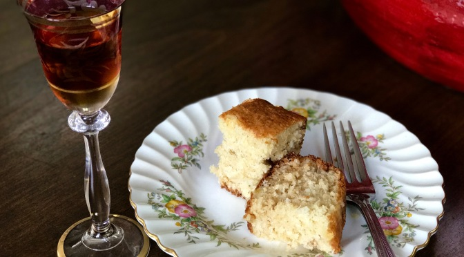 Sweet Chardonnay Pinnacolada Cake