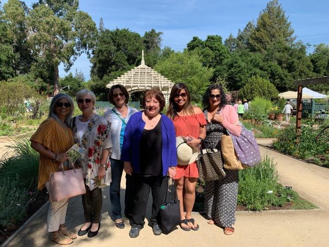 Gamble Garden Spring Tour 2019. Enter the Garden