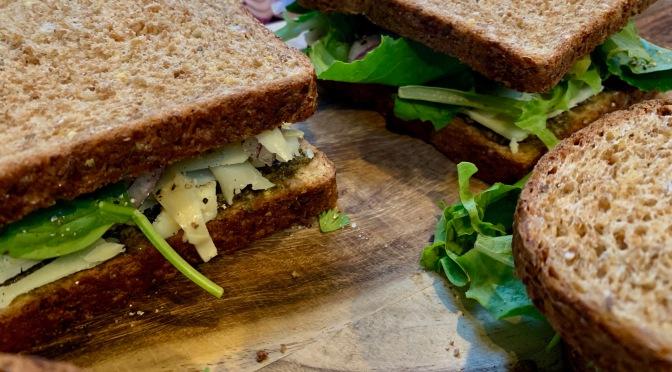 Artichoke Pesto Sandwich