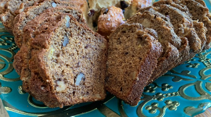 Whole Grain Banana Bread with Flax and Chia Seeds