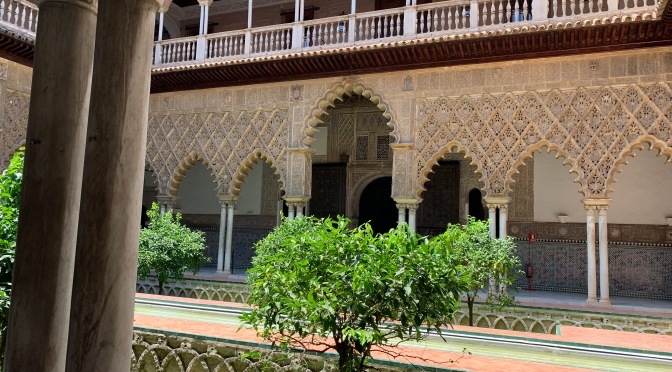 Real Alcazar Palace. Seville, Spain