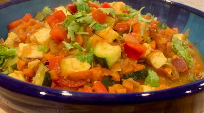 Indian Summer Ratatouille