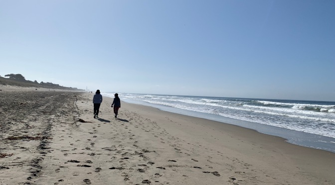 Walk on the Beach at Pajaro Dunes in Watsonville, California