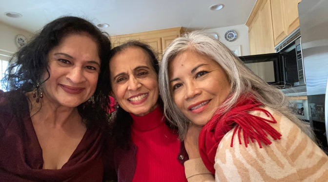 Holiday Lunch with Devi, Del & Rose
