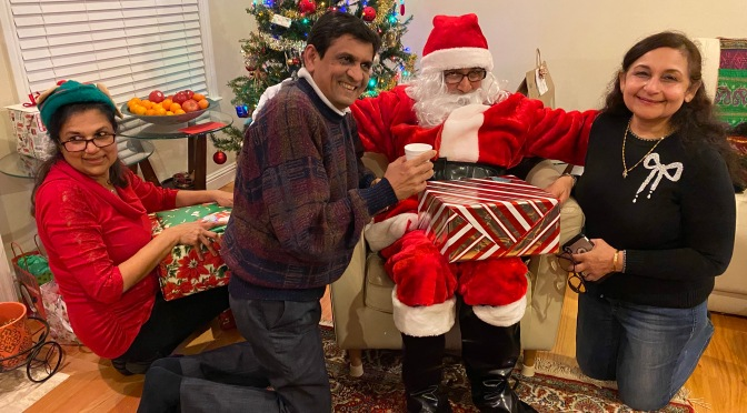 Basanthi's Christmas Party with Santa Claus and Friends 2019
