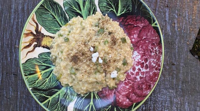 Spring Garlic and Asparagus Risotto