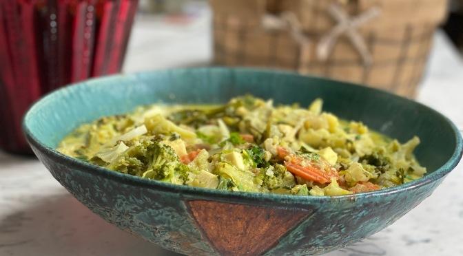 Sayur Lodeh. Javanese Vegetable Curry
