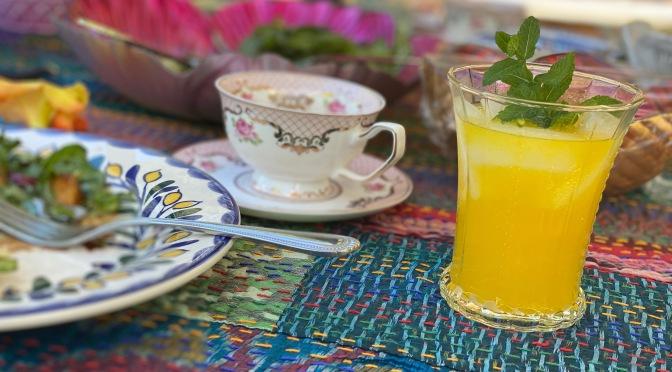 Ginger Orange Mocktail