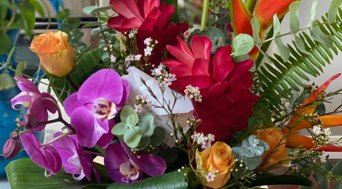 Friday Flowers. Birthday Bouquets