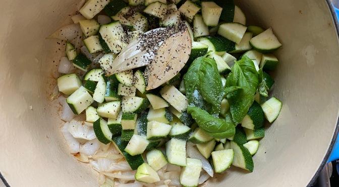 Zucchini Onion Soup